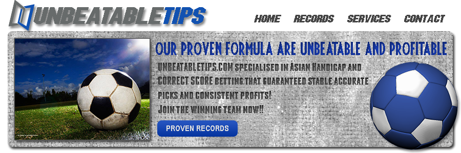Unbeatable soccer predictions and correct score tips